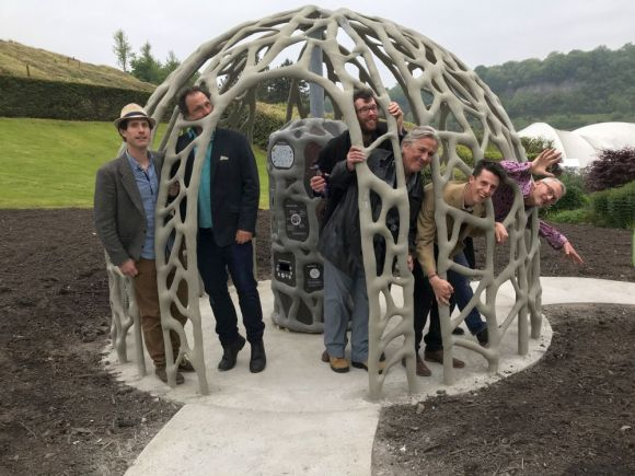 Eden Root Dome by Concept Shed Ltd People
